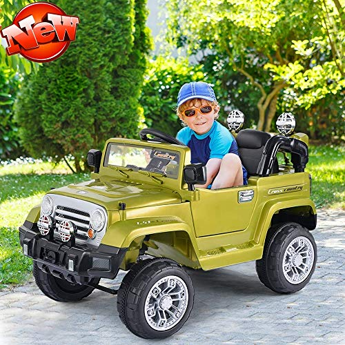 Best Deals! Aooppec More Comfortable More Durable Kids Ride on Truck Car, Safer Ride on Car with Rem...