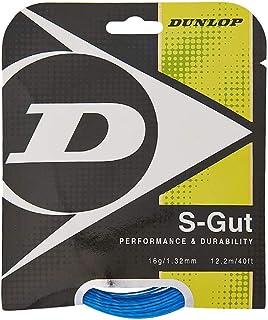 DUNLOP Gut Blue 16G Tennis String - Dl624705, Blue, Multicolour