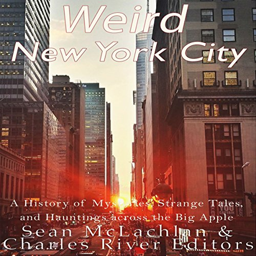 Weird New York City audiobook cover art