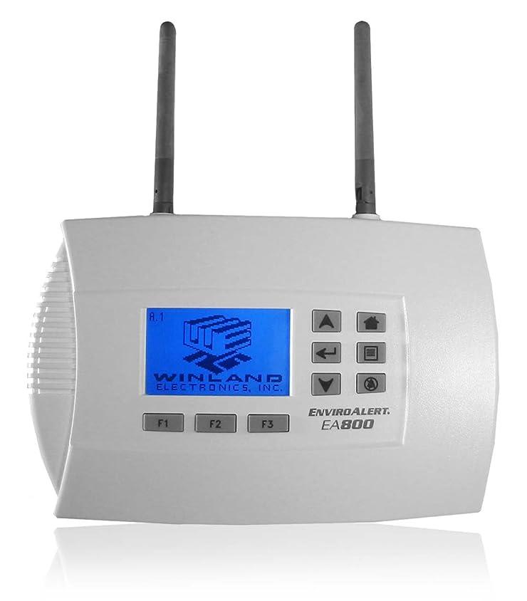 取り戻す闇シャベルWINLAND ELECTRONICS Winland EA800-IP Enviroalert; 1-8 Zone Wireless Console W/Data Logging 141[並行輸入]