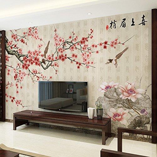 LZK Tapetenwandhintergrundwandbildschlafzimmer-Wohnzimmer-nahtloser Wandtuch des Wandhintergrundes des Wandhintergrundes des modernen Fernsehhintergrundes der Tapete 3D modernes chinesisches,EIN,1