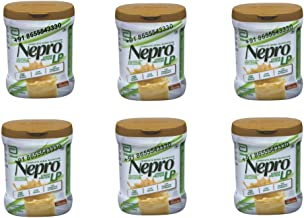 6 X 400gm Abbott Nepro LP Powder Vanilla Toffe - Complete Renal Nutrition Carb Steady Lower Protein for People with Kidney Disease (Non-DIALYZED)