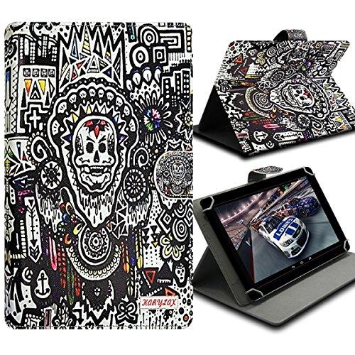 Seluxion Universal M Flip & Halterung, Motiv za07Für Tablet Huawei MediaPad T18.0, MediaPad M1& M2