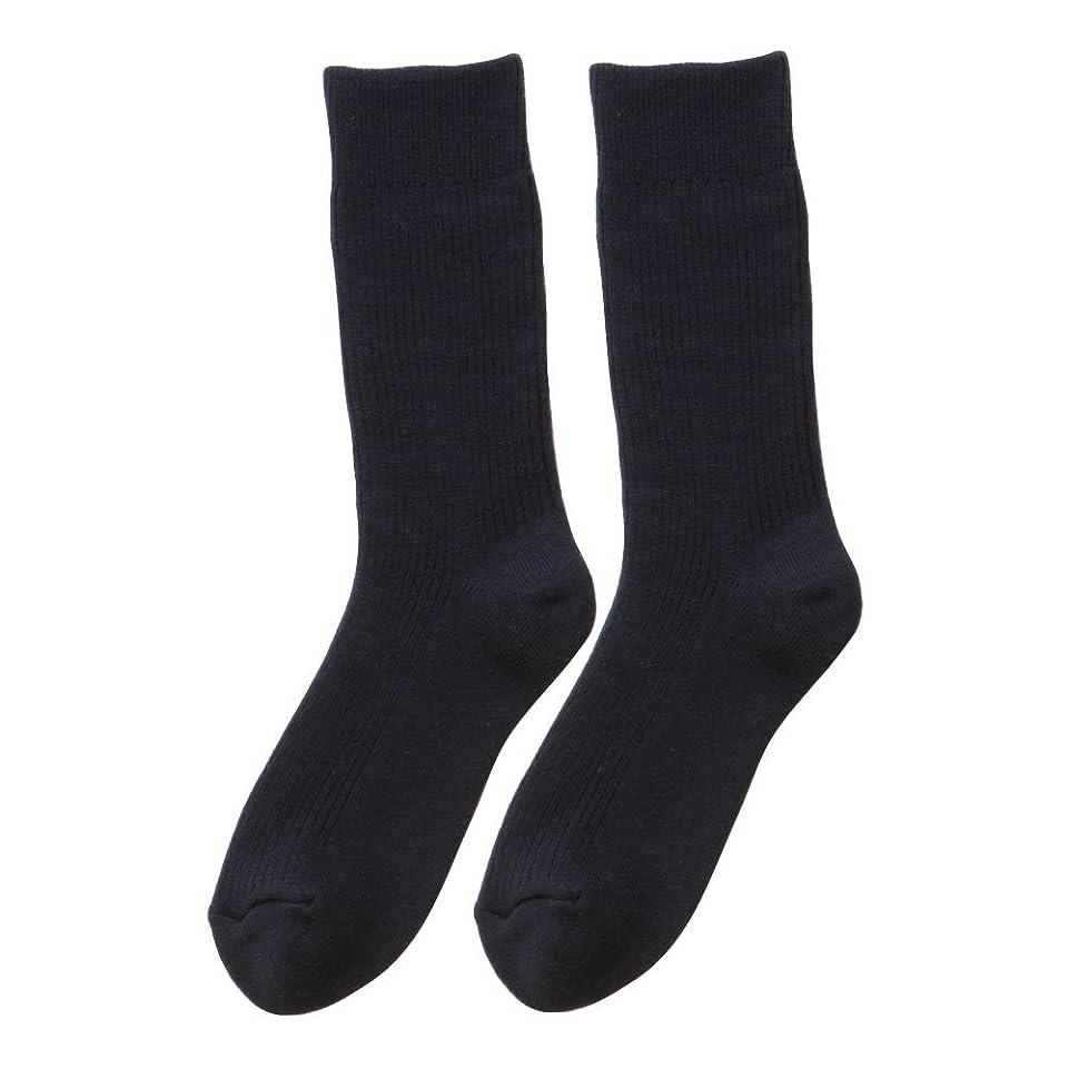 啓発する法令診断するひだまり ダブルソックス 紳士用 靴下[24~26cm] コン
