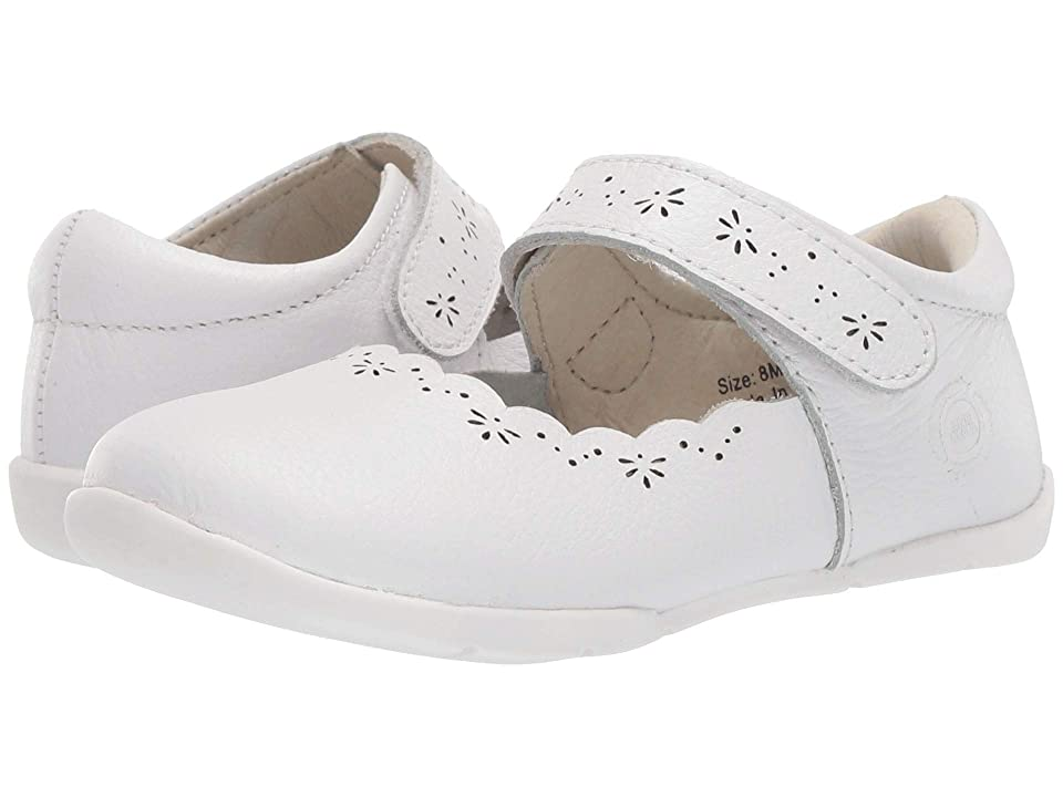 Livie & Luca Lily (Infant/Toddler) (Bright White) Girl