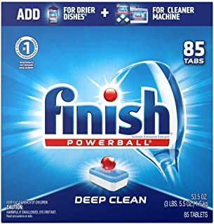 Finish – All in 1-85ct – Dishwasher Detergent – Powerball –..