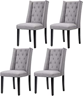 Dining Room Chairs Kitchen Chairs Parsons Dining Chairs (Set of 4) Side Chair for Restaurant Home Kitchen Living Room