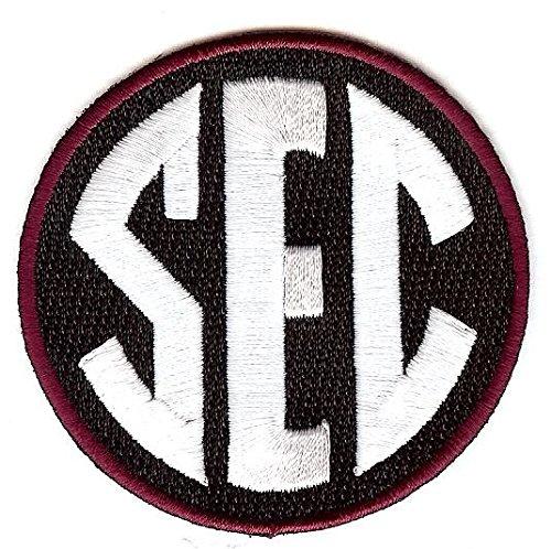 SEC Conference Team Jersey Uniform Patch South Carolina Gamecocks