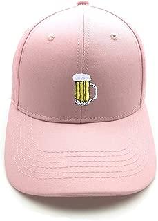 Cwenjing Baseball Cap Men Women Beer Mug Embroidery Ponytail Ladies Tennis Golf Ball Hat