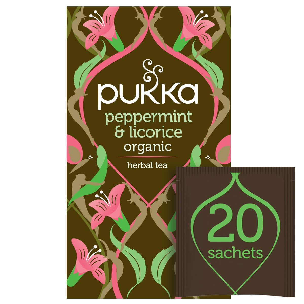 Pukka Organic Herbal Tea Some reservation Bags service Licorice 20 Peppermint