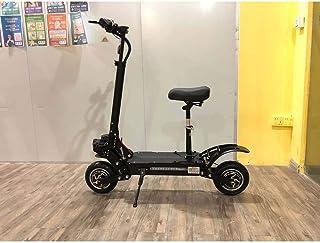 BCBIG Höghastighets elektrisk scooter – dubbel motor med 28 cm terrängdäck motor max hastighet 65 km/h hopfällbar pendling...