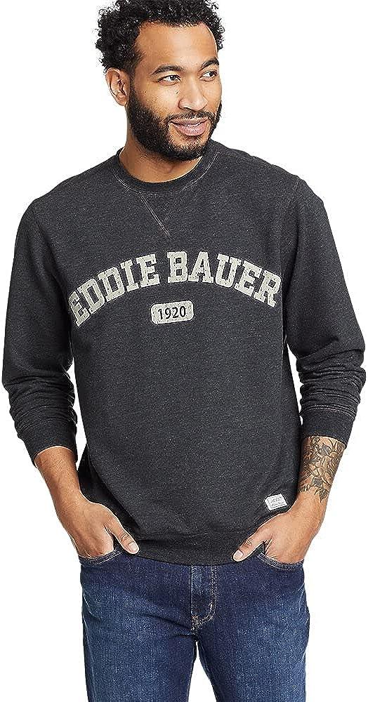 Eddie Bauer Men's Everyday Fleece Logo Crewneck Sweatshirt