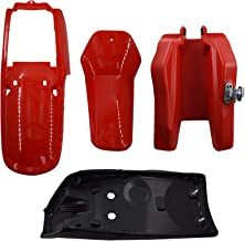 Autoparts Fender Body Seat Tank Assembly Red Replacement...