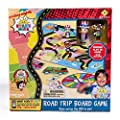 Far Out Toys Ryan's World Road Trip Board Game - Includes Collectible Figurines, Micro Figure Cards & Surprise Suitcase Tiles