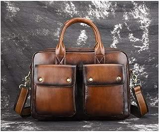 Mens Bag Men's Bag Messenger Bag Men's Business Casual Laptop Bag Business Bag Leather Briefcase Leather Bag High capacity