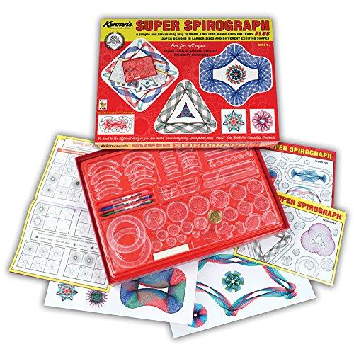 Spirograph Super Spirograph Jumbo Set, 75-Piece