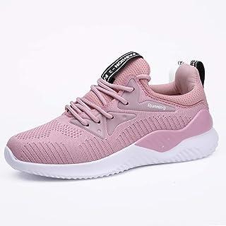 ZLYZS Zapatos para Correr para Mujer, Zapatillas De Deporte De Malla Zapatillas De Jogging Transpirables Zapatillas De Ent...