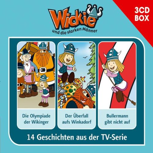 Wickie - 3-CD Hörspielbox Vol. 3