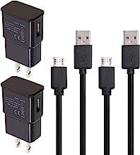 کابل شارژر 2 پک برای استیک آمازون ، تلویزیون تبلت ، کابل آداپتور دیواری خانگی AC / DC آندروید