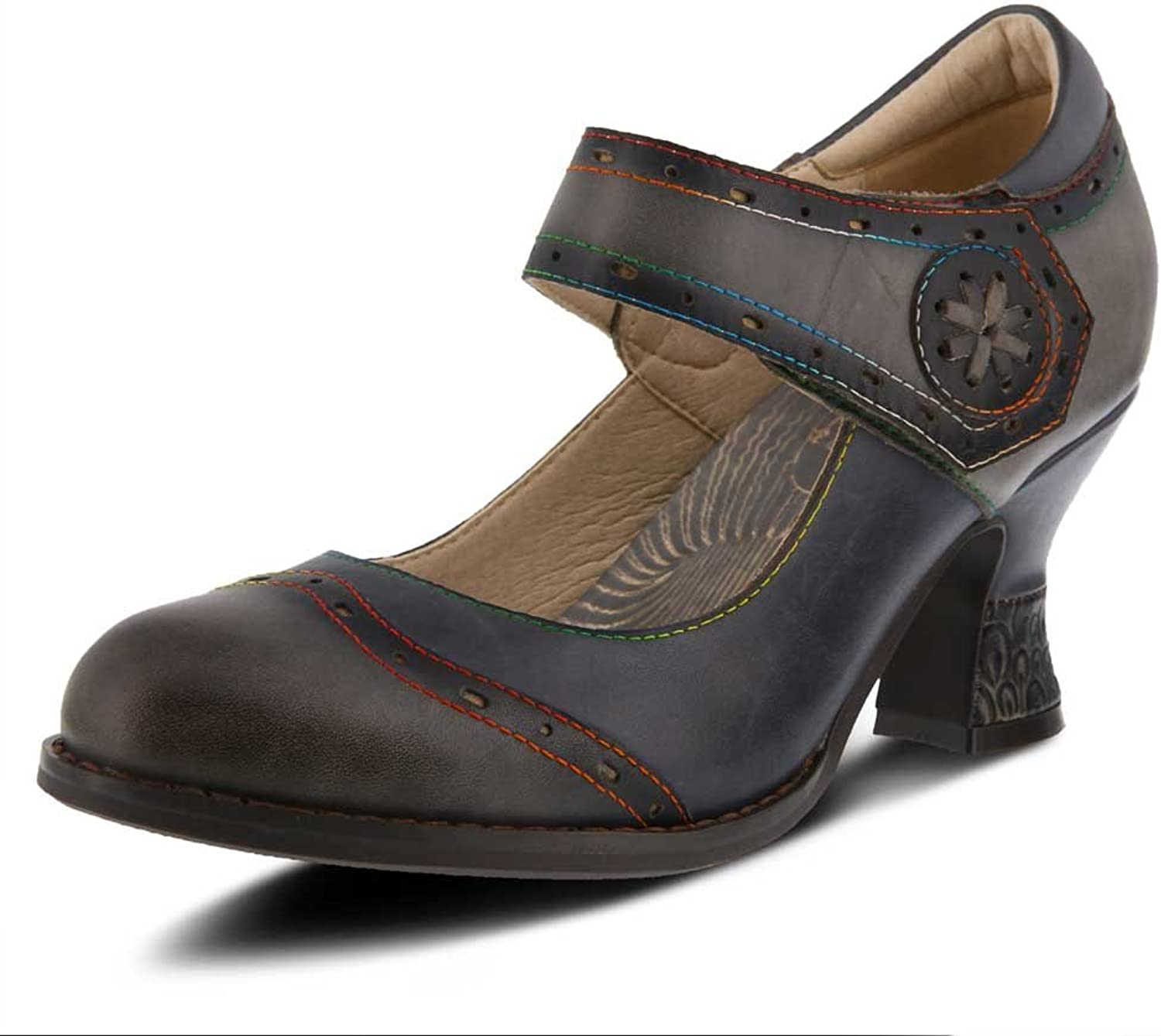 L`Artiste by Spring Step Women's Leather Mary Jane shoes Maryellen