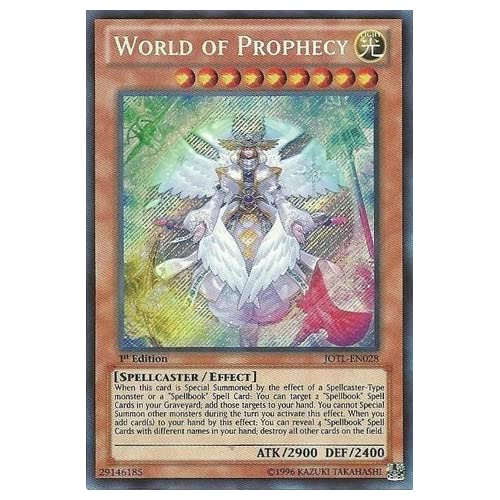 Crowley Yu-Gi-Oh! 1st Edition Duel Power The First Propheseer Ultra Rare DUPO-EN028