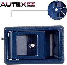 AUTEX Door Handle Blue Interior Front/Rear Left Driver Side Compatible with Toyota Corolla Pickup Tacoma 4Runner Tercel,Geo Prizm 88 89 90 91 92 93 94 95 96 97 98 1999 2000 Door Handle 77121