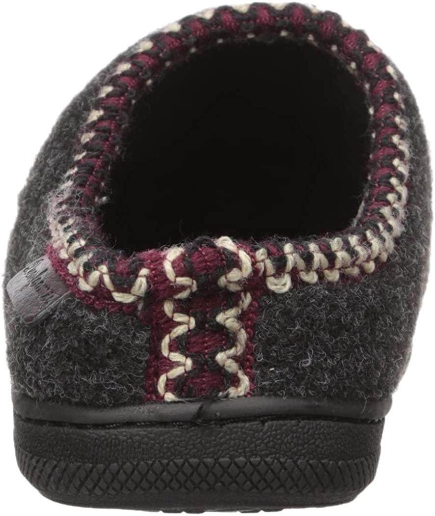 Dearfoams unisex-baby Kids Toddlers Microwool Clog