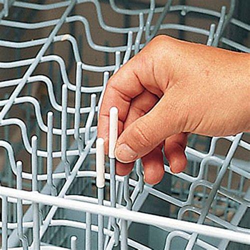 Mowham Blanco Lavavajillas Universal Rejilla Tenedores Punta Cachés 100 Simplemente Activar el Modo de Reparación