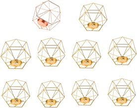 Fenteer 10 Pcs 3D Geometric Wedding Geometric