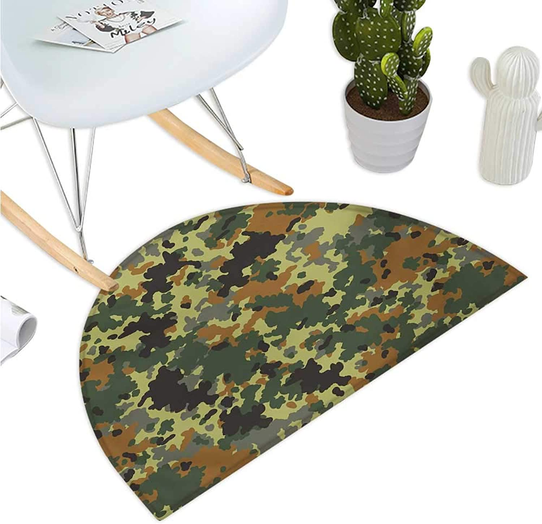 1c2f6ea76001 Camouflage Germany Classical Cushion Semicircular Camo Pattern ...