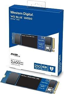 Western Digital SSD 250GB WD Blue SN550 PC M.2-2280 NVMe WDS250G2B0C-EC 【国内正規代理店品】