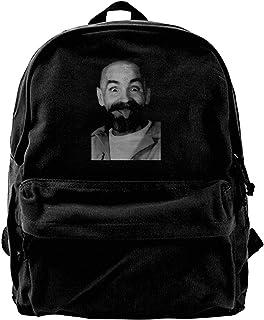 NJIASGFUI Mochila de lona Charles Manson Helter Skelter Einstein LSA para gimnasio, senderismo, portátil, bolso de hombro ...