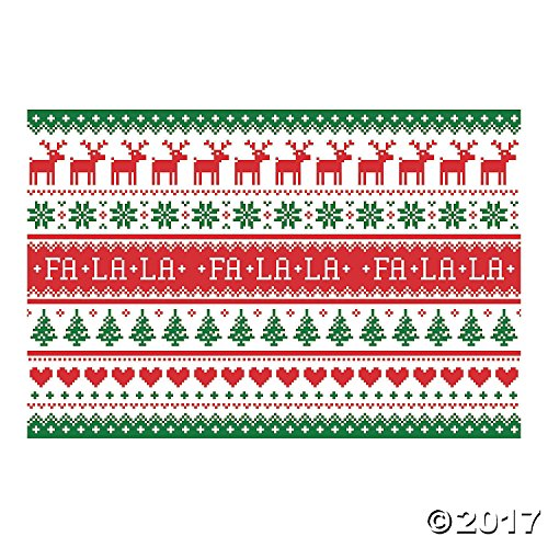Ugly Sweater Backdrop