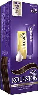 Wella Koleston Hair Color Creme, 304/0 Medium Brown, 100 ml