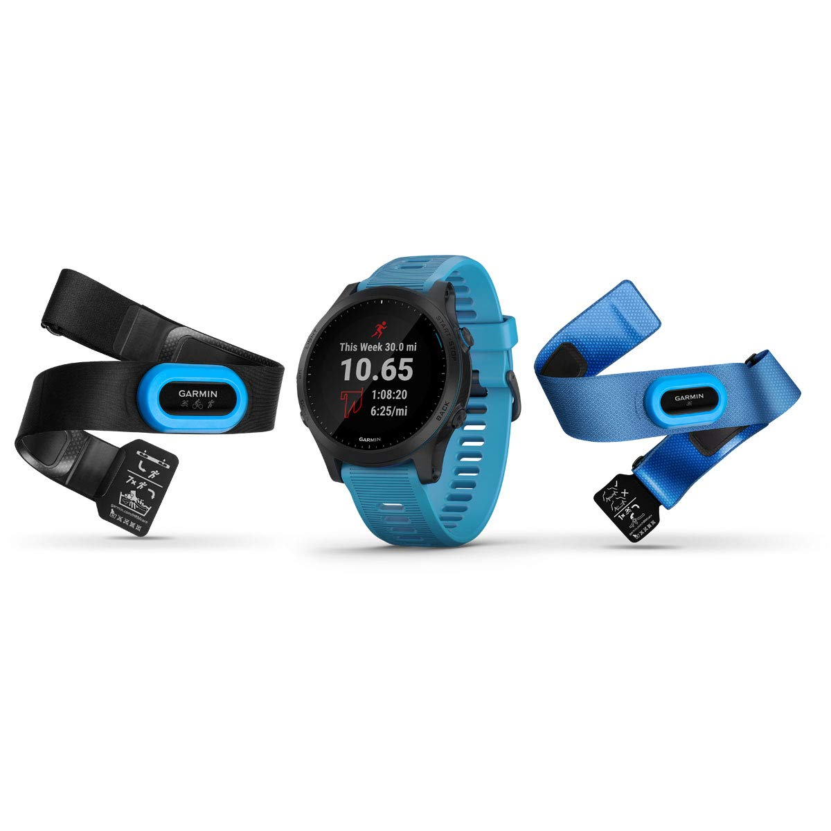 Garmin - Reloj GPS Forerunner 945 Pack Triatlon Garmin: Amazon.es: Electrónica
