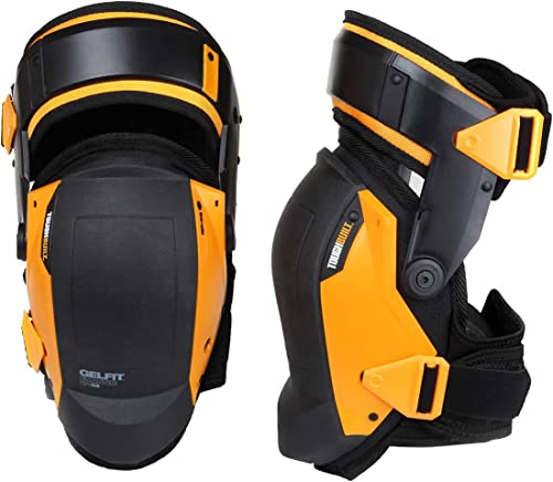 ToughBuilt GelFit Fanatic - Thigh Support Stabilization Professional Knee Pads - Comfortable Gel Cushion & Heavy Duty...