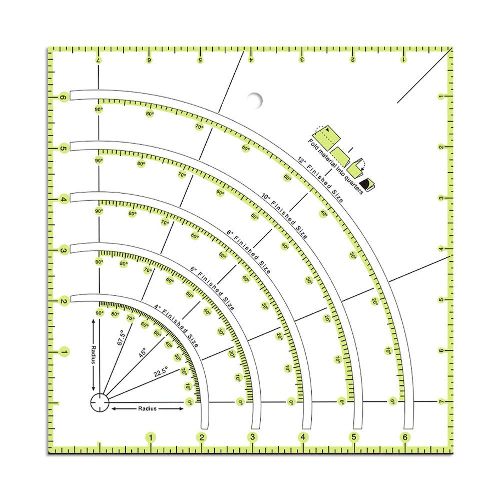 DIY Hand Patchwork Ruler Dealing full price reduction Acrylic OFFicial mail order Sewing Quilting Accurate