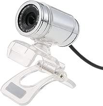 Docooler USB 2.0 12 Megapixel HD Camera Web Cam with MIC Clip-on 360 Degree for Desktop Skype Computer PC Laptop Transparent