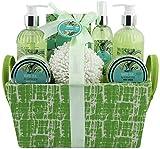 BRUBAKER Cosmetics Bade- und Dusch Set Weißer Tee und Ingwer