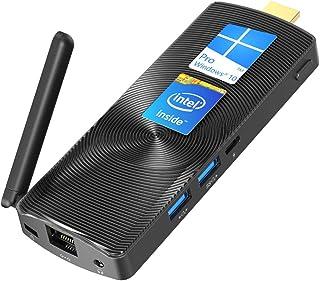 MeLE Mini PC Stick Intel Celeron J3355 4G/64G Windows 10 Pro Mini PC Soporte HDMI 4K Dual Band WiFi con puerto Gigabit Eth...