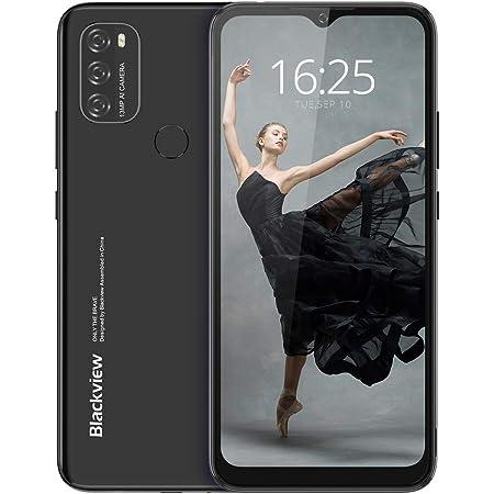 Android 11 Smartphone Offerta del Giorno 4G, Blackview A70 Cellulari Offerte con 6.51 Pollici HD+ Schermo, 5380mAh Batteria,Octa-core 3GB/32GB,13MP Tripla Fotocamera Dual SIM Telefono Cellulare -Nero