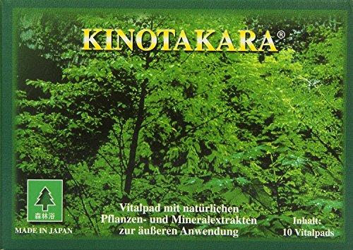 Kinotakara Esparadrapo de vinagre de árbol de Japón para purificar - Kinotakara 10 esparadrapos