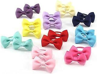 Cintas elásticas para niñas para recoger y atar el pelo (20 unidades).