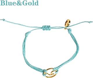 Adjustable Colorful Handwoven Multi Layer Bracelets Weave Round Beaded Bracelet Retro Rice Ethnic Jewelry