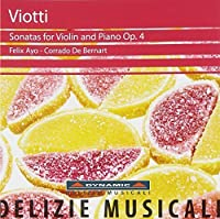 Viotti: Sonatas for Violin & Piano Op. 4 (2012-02-28)