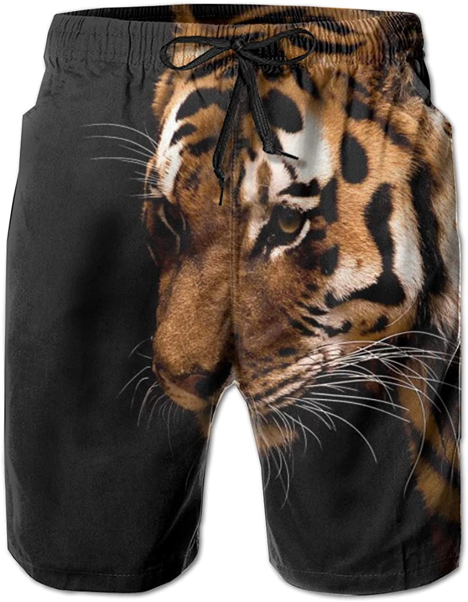 Tiger Fees free!! Summer Surf Beach Directly managed store Shorts Men's Sports Funny Pants Running