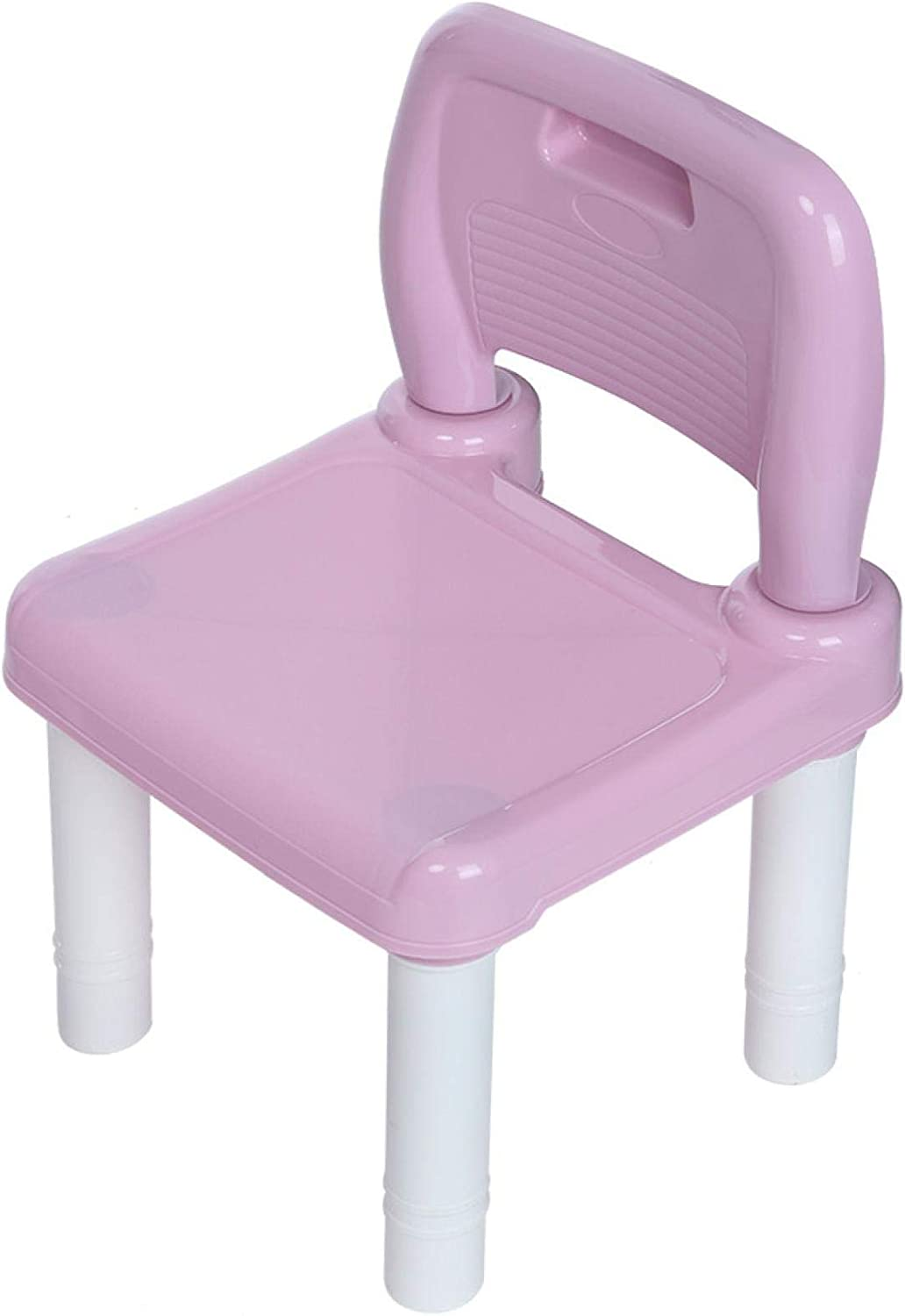 Strong Bearing Capacity TOUNTLETS Kids Activity Table and Chairs Set Pink Learning Dining Children Furniture Accessories Playroom Toddler Activity Chair Best for Toddlers Reading Lightweight