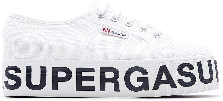 Superga Women's S00FJ802790COTW901 White Cotton Sneakers