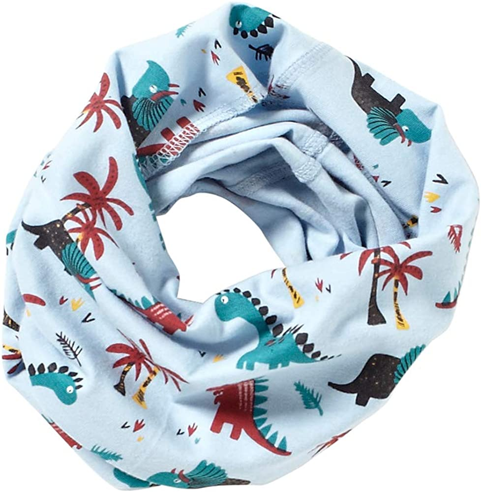 Childrens Boys Girls Soft Fleece Neck Warmer Snood Scarf Warm Winter UK Seller