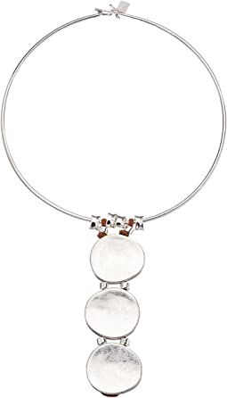 Robert Lee Morris - Wire Necklace with Totem Style Pendant